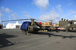 XT626 Westland Scout AH1 on display on Plymouth Hoe 30.06.12