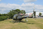 XP910 Westland Scout AH1 @ Army Air Corps Museum 10.07.13