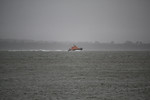 """Severn Class 17-44 """"RNLB Annette Hutton"""" - Castletownbere Lifeboat - Passing through the Solent 30.03.10"""