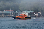 """Tamar Class 16-27 """"RNLB Roy Barker IV"""" - The Mumbles Lifeboat - On trials heading down the River Tamar 16.05.13"""