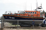 """Mersey Class 12-001 """"RNLB Peggy and Alex Caird"""" - Relief Lifeboat @ Bembridge Temp Lifeboat Station 30.03.10"""